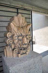 常滑のINAXライブミュージアムの中庭「テラコッタパーク」に展示されたテラコッタ。かつて大日本製薬の外壁を飾っていたもの。